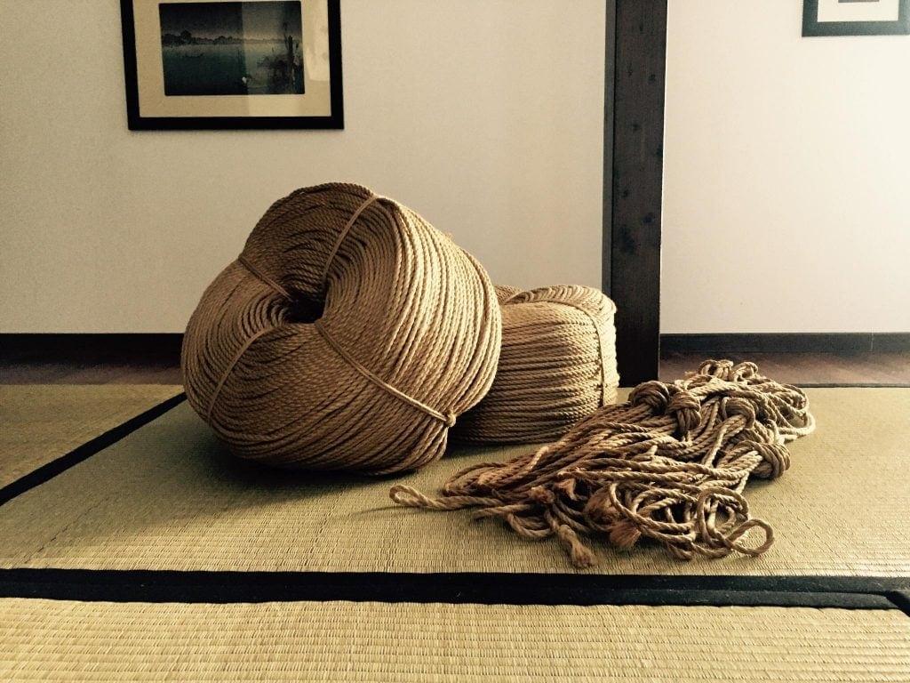 Corde asanawa per bondage giapponese