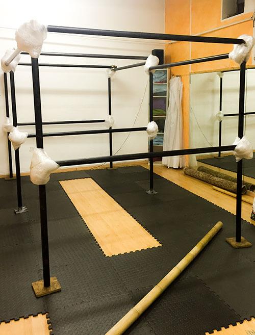 bondage frame scaffolding poles